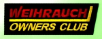 Weihrauch Owners Club Sew On Embroidered Badge